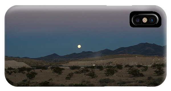 Desert Moon-1 IPhone Case