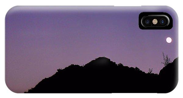 Desert Moonrise  IPhone Case