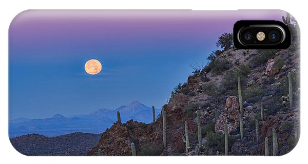 Desert Moonset IPhone Case