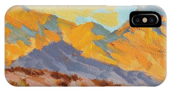 Desert Morning La Quinta Cove IPhone Case