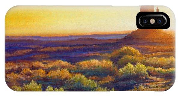 Desert Morning IPhone Case