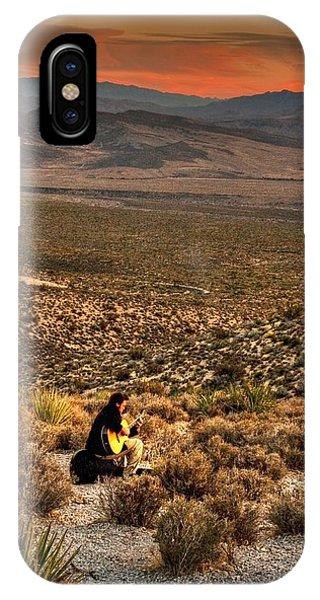 Desert Music IPhone Case