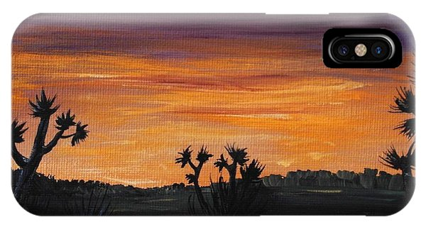 Desert Night IPhone Case