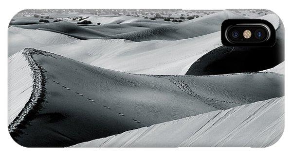 Desert Night Death Valley By Diana Sainz IPhone Case