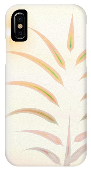 Desert Palm - Digital Abstract IPhone Case