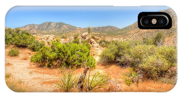 Desert Panorama Phone Case by Deborah Smolinske