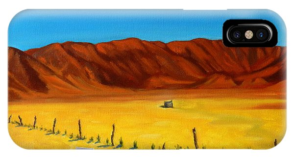 Desert Privacy, Peru Impression IPhone Case