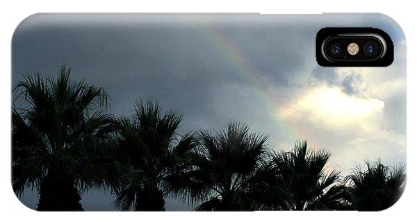 Desert Rainbow Phone Case by Deborah Smolinske