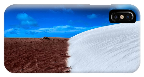 Desert Sand And Sky IPhone Case