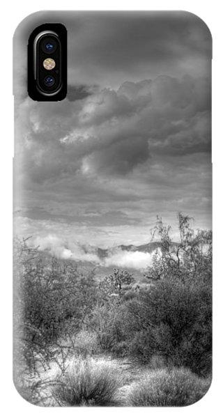 Desert Scrub IPhone Case
