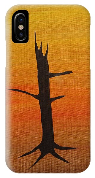 Desert Sentinal Phone Case by Keith Nichols