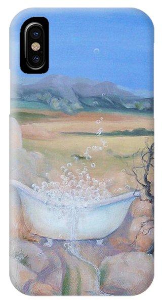 Desert Spa IPhone Case