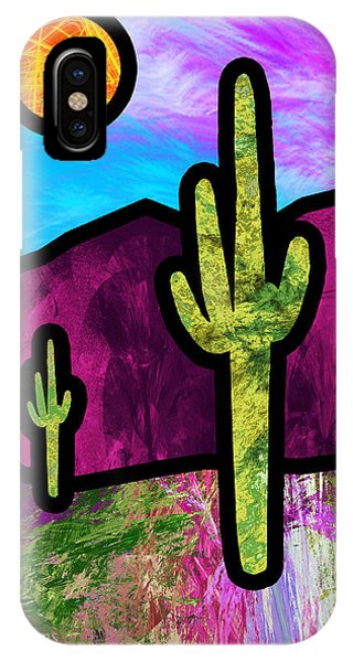 Desert Stained Glass IPhone Case