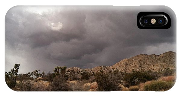 Desert Storm Come'n IPhone Case