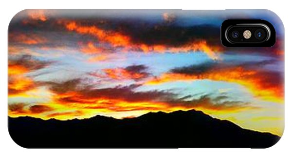 Desert Sunset 15 IPhone Case