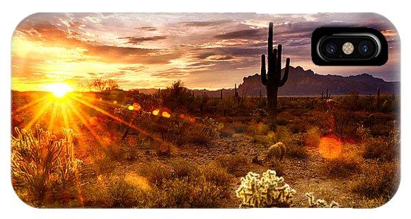 Desert Sunshine  IPhone Case