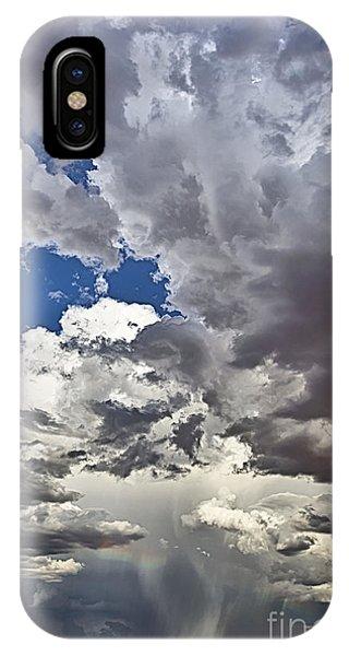 Desert Thunderstorm 1 IPhone Case