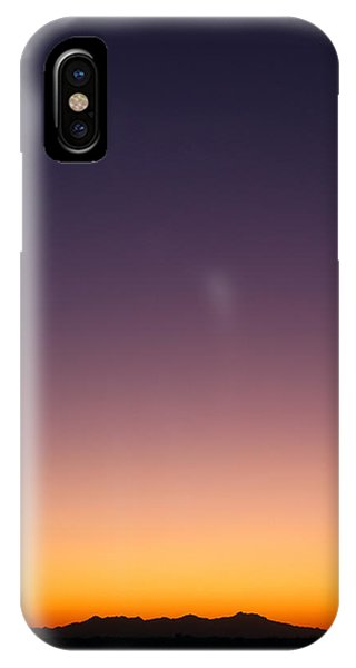 IPhone Case featuring the photograph Desert Twilight by Brad Brizek