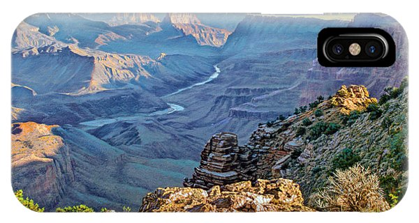 Grand Canyon iPhone Case - Desert View-morning by Paul Krapf