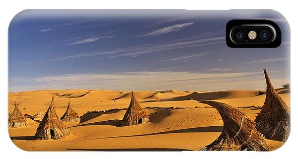 Desert Village IPhone Case