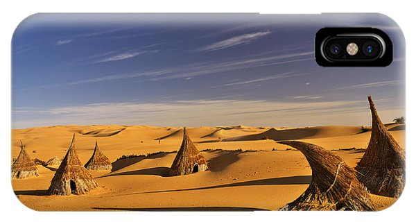 Desert Village IPhone Case
