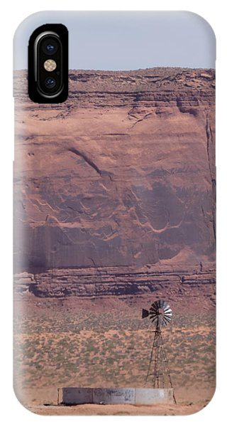 Desert Windmill Phone Case by Sanda Kateley