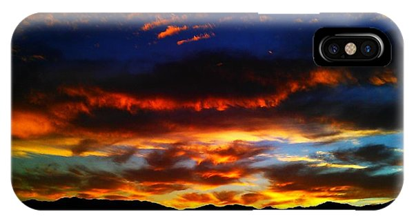 Desert Winter Sunset  IPhone Case