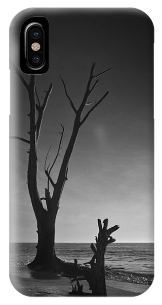 Deserted Beach Sunset IPhone Case