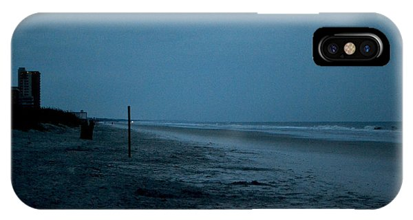 Deserted Beach Phone Case by Victoria Clark
