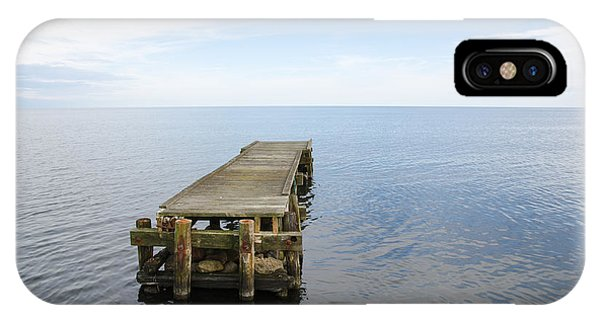 Deserted Jetty IPhone Case