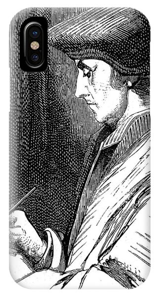 New Testament iPhone Case - Desiderius Erasmus by Collection Abecasis