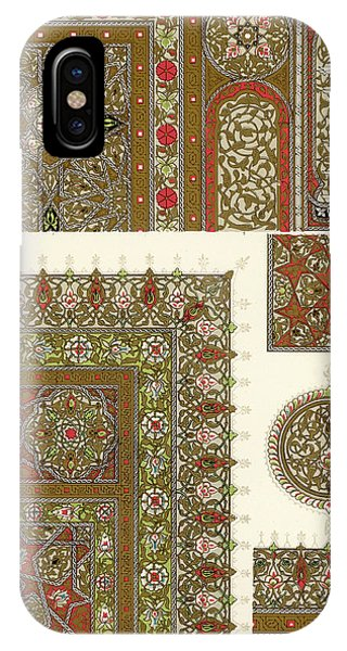 Designs From A Copy Of The  Koran Phone Case by Mary Evans Picture Library
