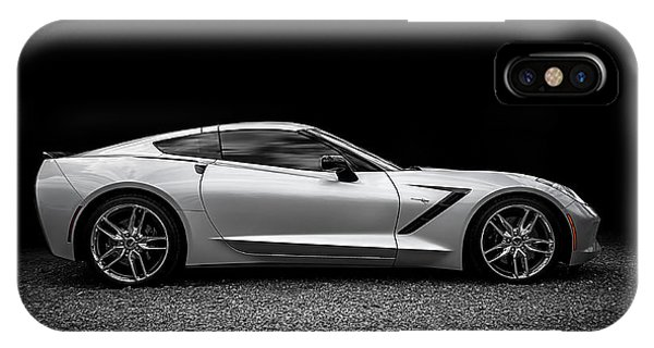 Chevrolet iPhone Case - 2014 Corvette Stingray by Douglas Pittman