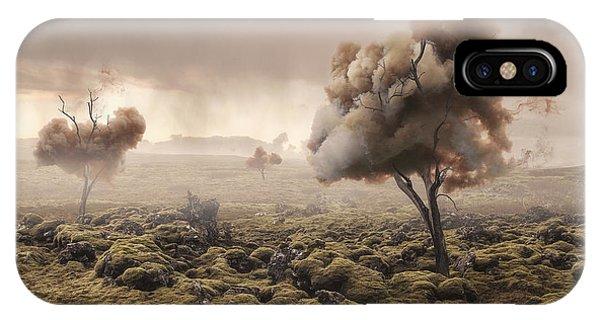 Desolation iPhone Case - Desolation by Matthias Bergolth