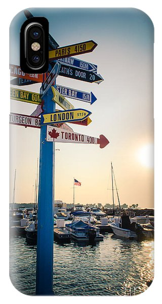 Destination Egg Harbor IPhone Case