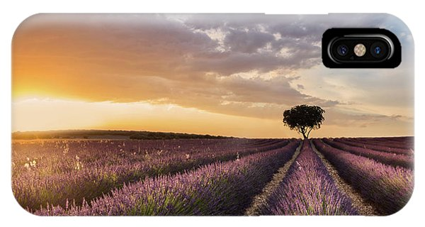 Destination Lavender Phone Case by Fran Ros