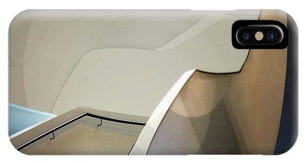 Staircase iPhone Case - Details by Henk Van Maastricht