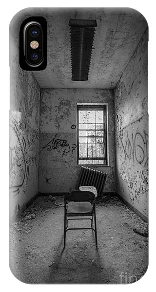 Urban Decay iPhone Case - Detention Room Bw by Michael Ver Sprill