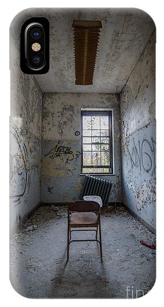 Urban Decay iPhone Case - Detention Room by Michael Ver Sprill