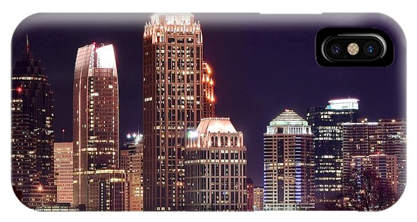 Chicago Skyline Art iPhone Case - Atlanta Towers by Frozen in Time Fine Art Photography