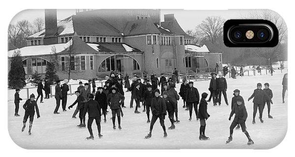 Detroit Michigan Skating At Belle Isle IPhone Case