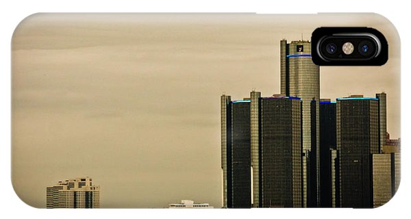 Detroit River Phone Case by Winnie Chrzanowski