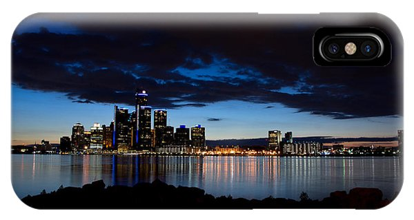 Detroit Twilight IPhone Case