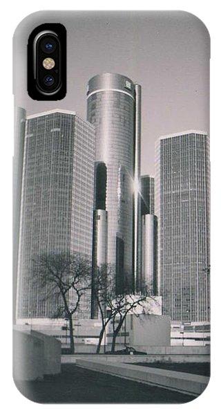 Detroit2 IPhone Case