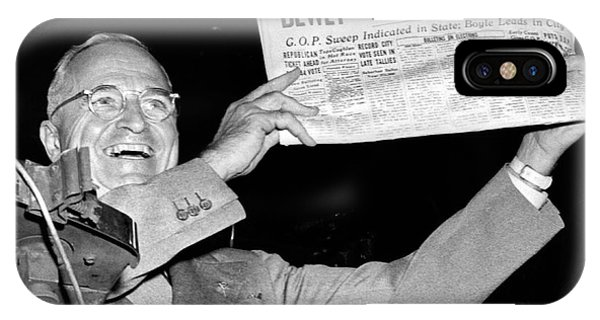 Dewey Defeats Truman Newspaper IPhone Case