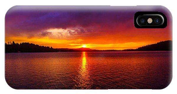 Dexter Lake Oregon Sunset 2 IPhone Case