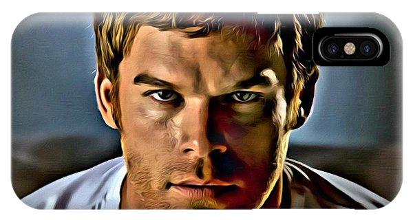 Dexter Portrait IPhone Case
