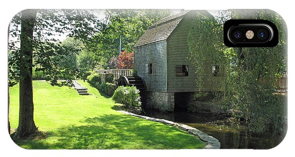 iPhone Case - Dexters Grist Mill by Barbara McDevitt