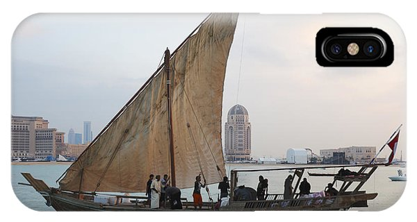Dhow And Hotels IPhone Case