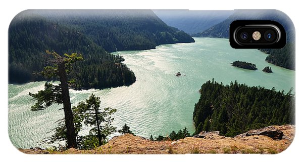 IPhone Case featuring the photograph Diablo Lake by Kelly Reber